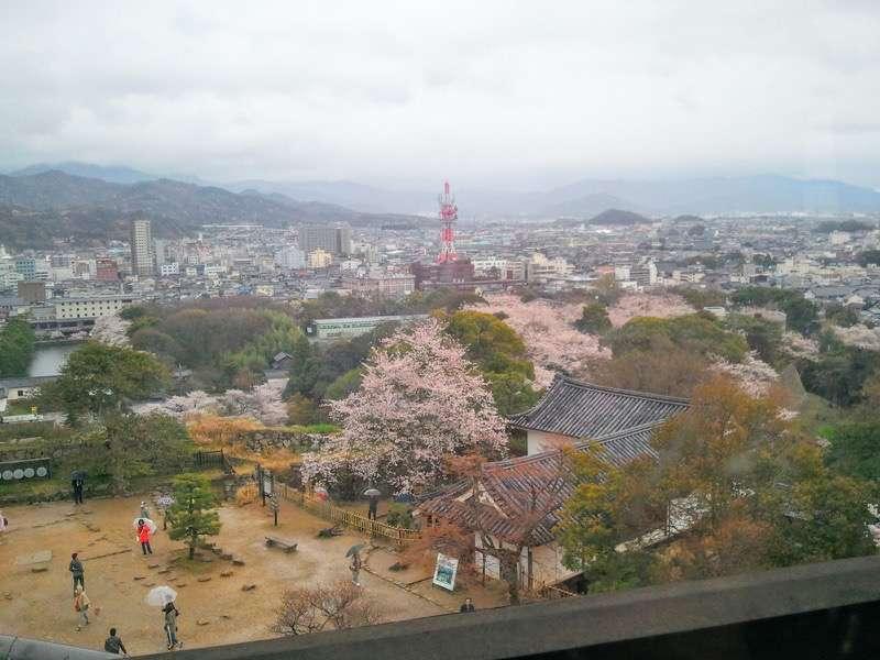 彦根城 天守からの眺め