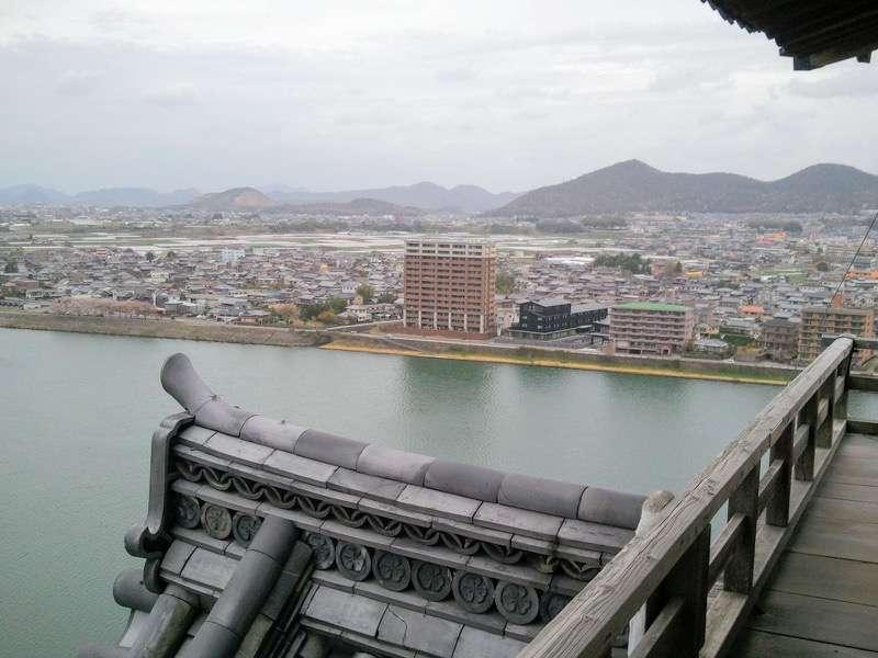 犬山城 望楼よりの眺め3