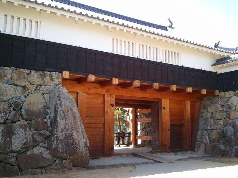 松本城 太鼓門櫓門