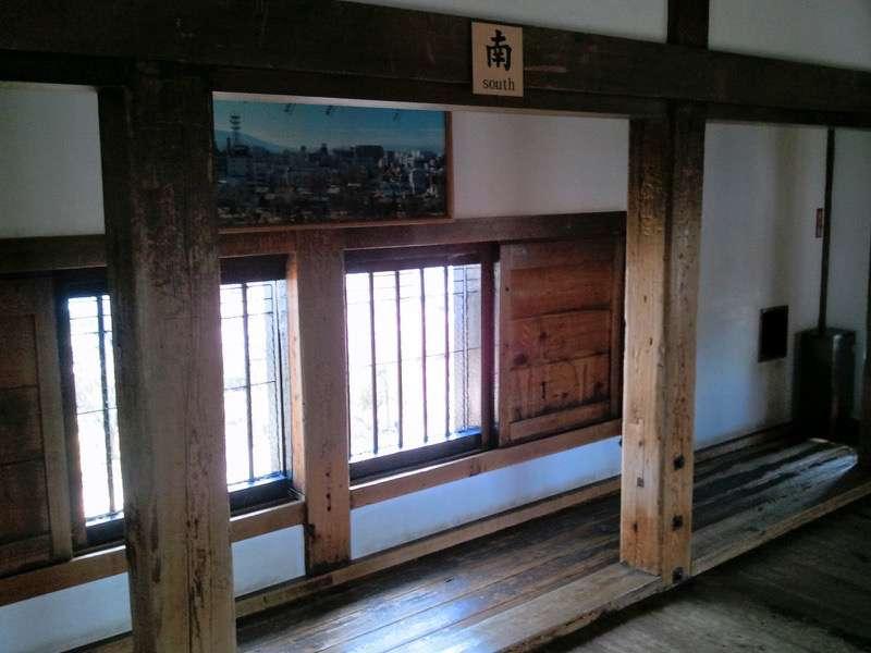松本城 大天守六階4
