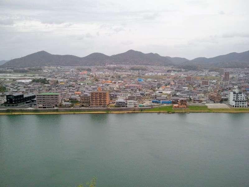 犬山城 望楼よりの眺め1