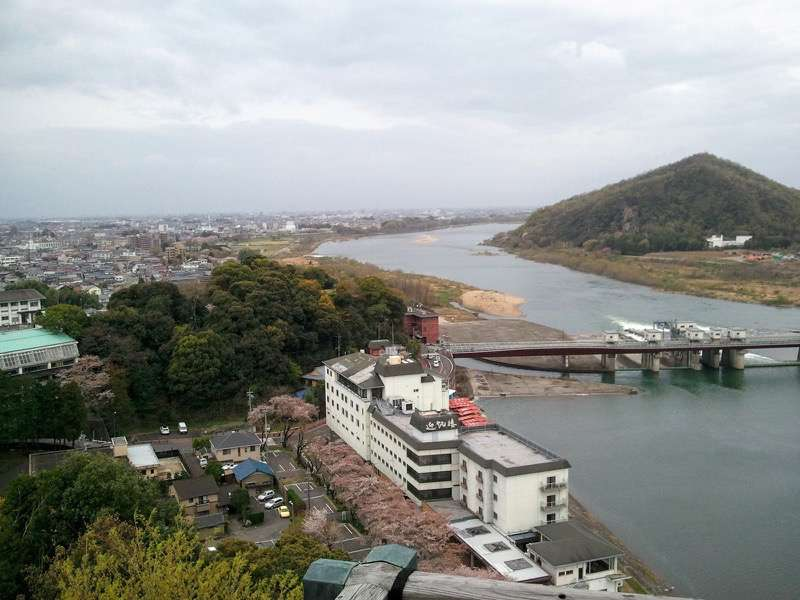 犬山城 望楼よりの眺め2