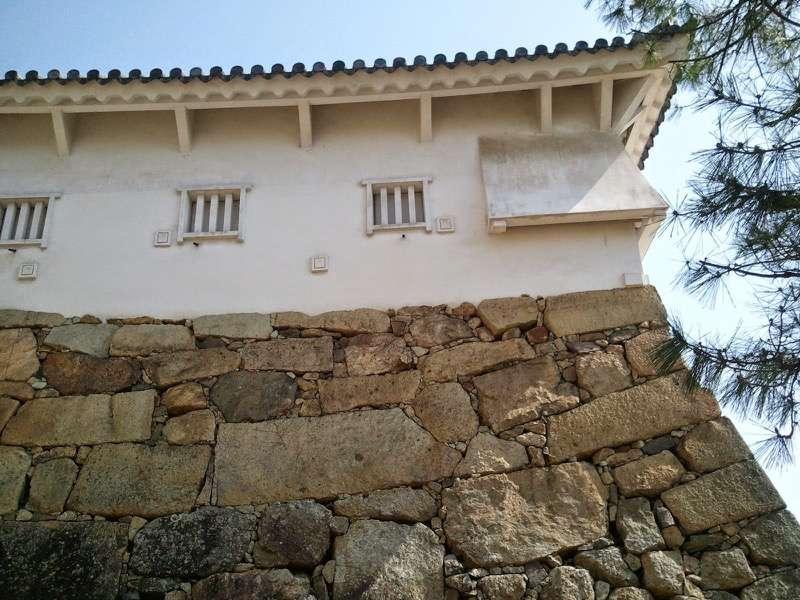 姫路城 ぬの門とりの門の間1