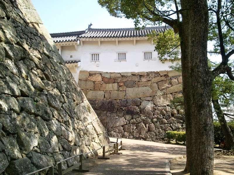 姫路城 いの門とぬの門の間2