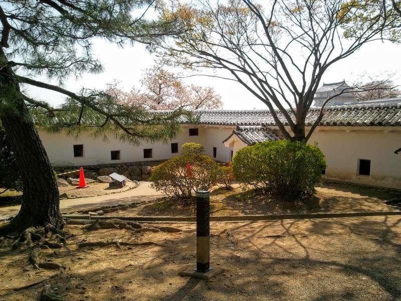 姫路城 いの門とぬの門の間3