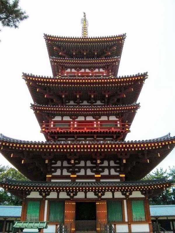 薬師寺 五重塔