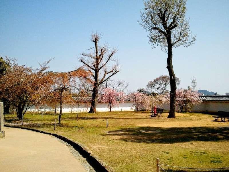 姫路城 ぬの門とりの門の間4