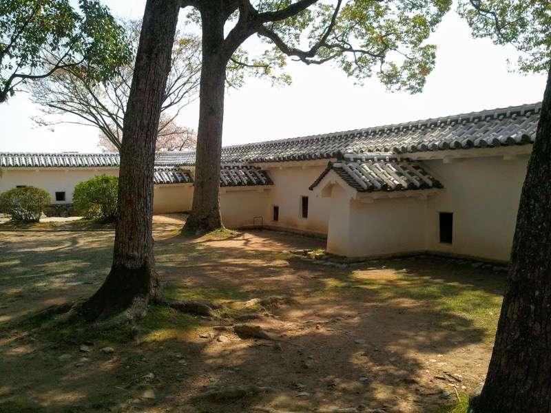 姫路城 いの門とぬの門の間1