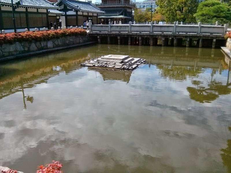 四天王寺 亀の池1