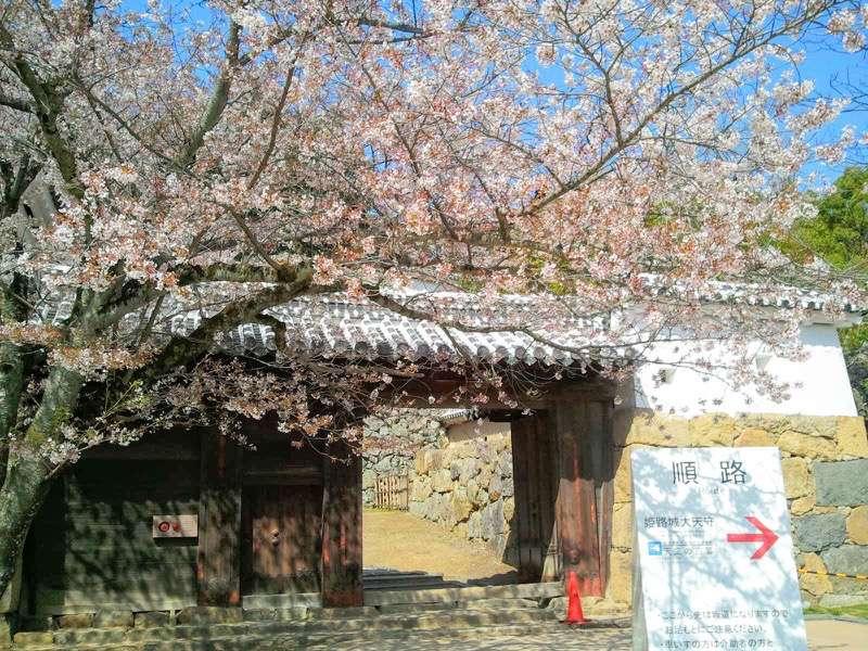 姫路城 ろの門