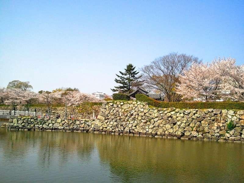 姫路城 お堀2