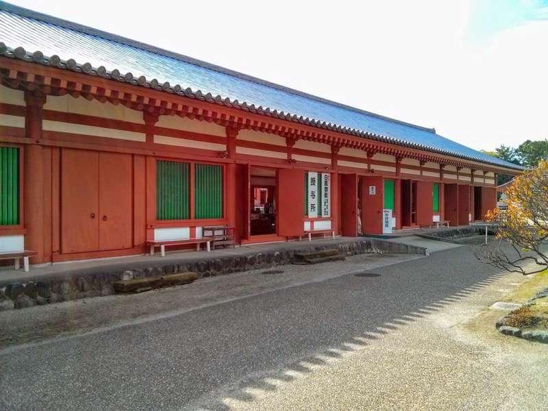 薬師寺 入口