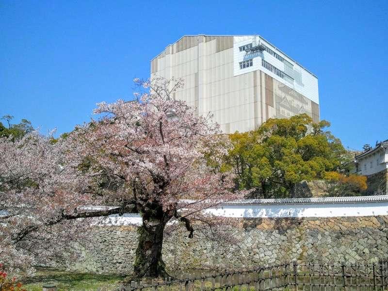 姫路城 菱の門いの門の間2