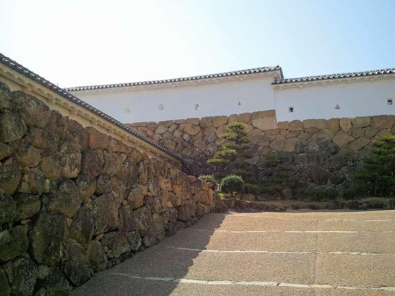 姫路城 菱の門付近
