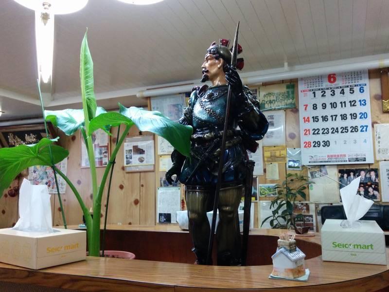 元祖インドカレー小池 飾ってある人形