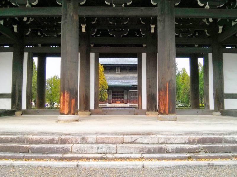東福寺 三門から本堂
