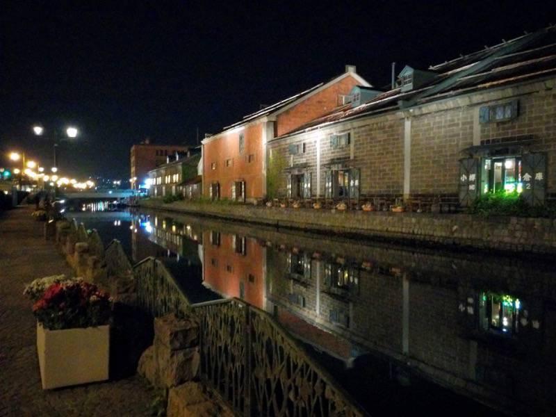 小樽 夜の小樽運河3