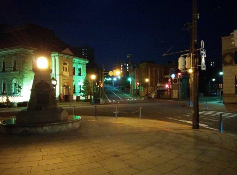 小樽 夜のメルヘン交差点2