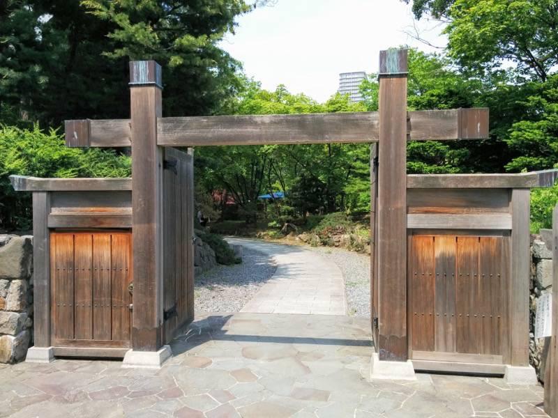 中島公園 日本庭園入口