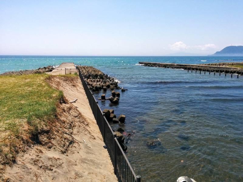 一文字の近くの海岸4