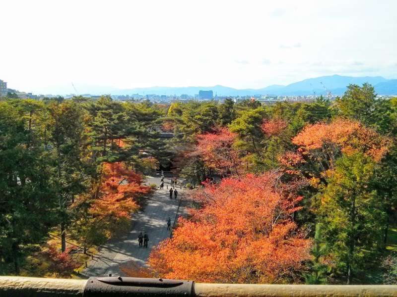 南禅寺 三門からの眺め西側2