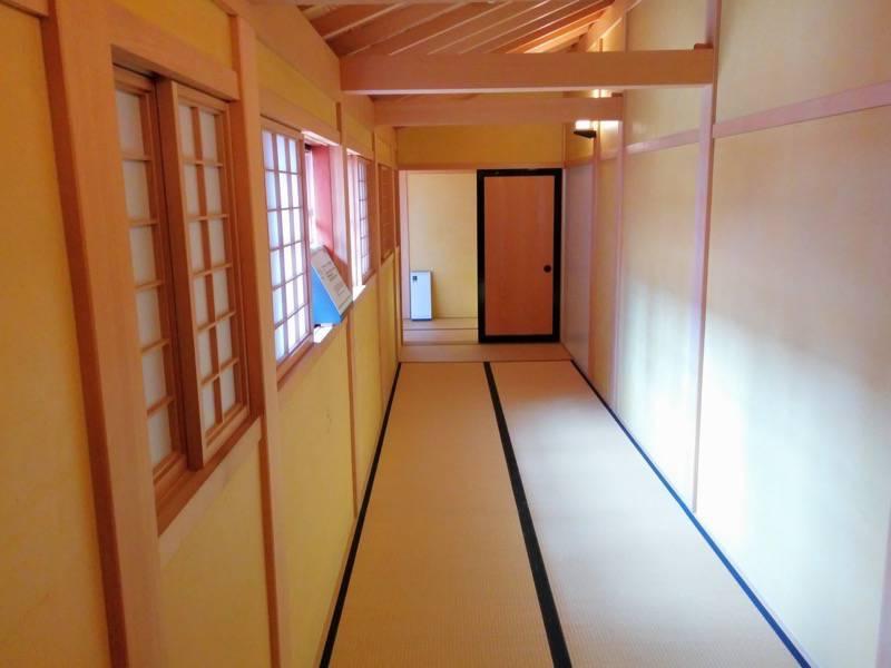 箱館奉行所 中庭前の畳敷き