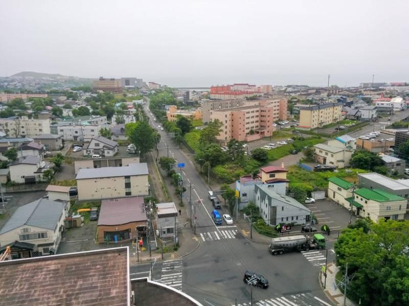 釧路市生涯学習センター 展望台 南側