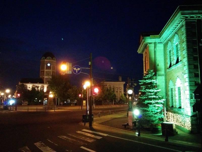 小樽 夜のメルヘン交差点1