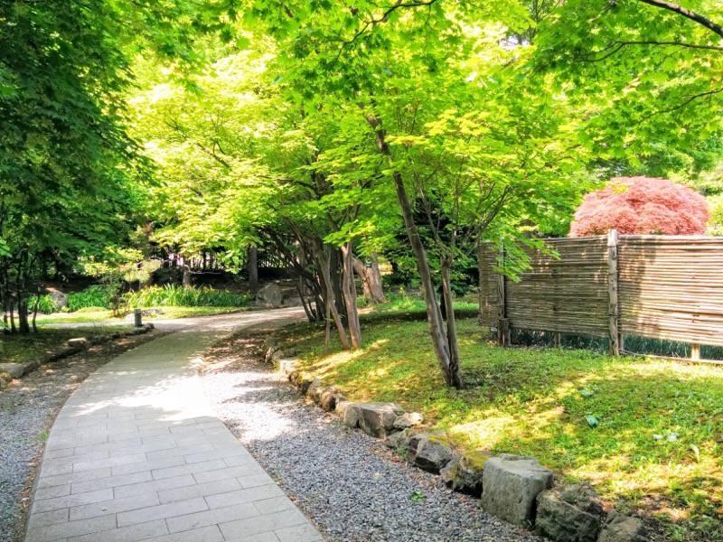 中島公園 日本庭園園内3