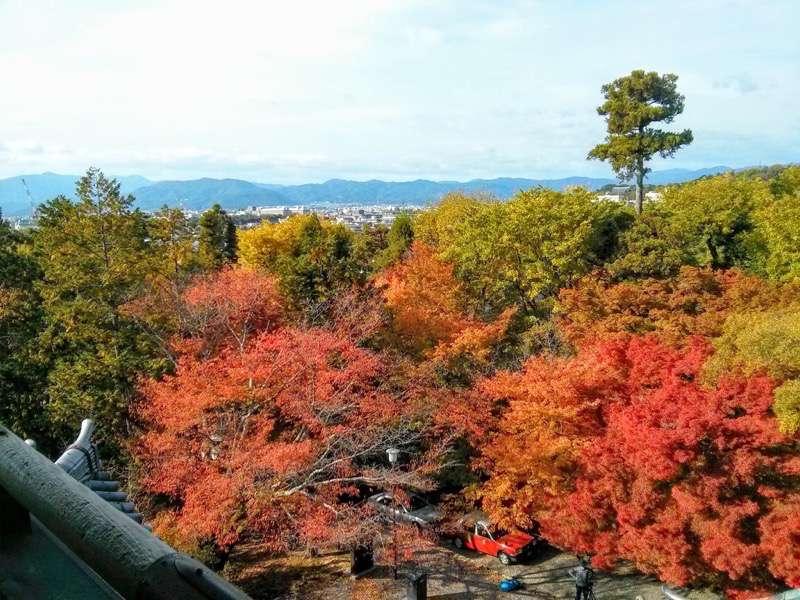 南禅寺 三門からの眺め西側1