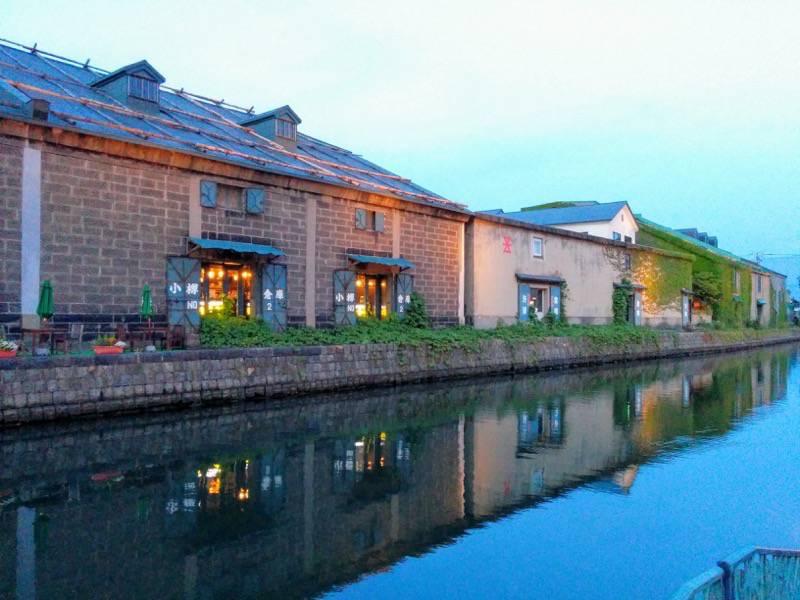 小樽 夕暮れの小樽運河5