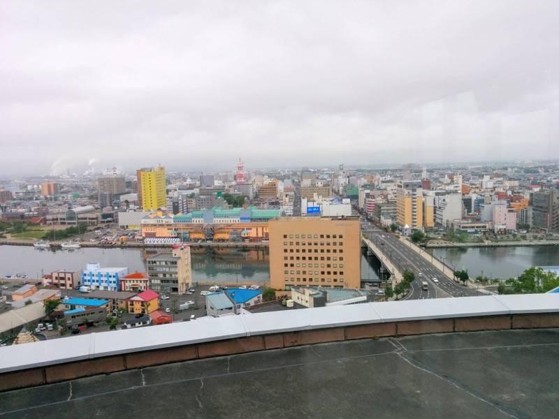 釧路市生涯学習センター 展望台 北側1