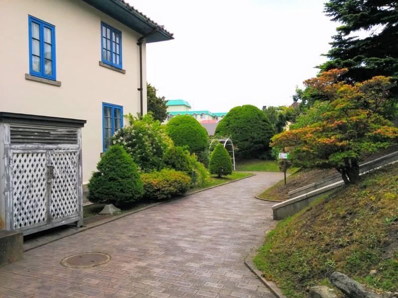函館市旧イギリス領事館 ガーデン1