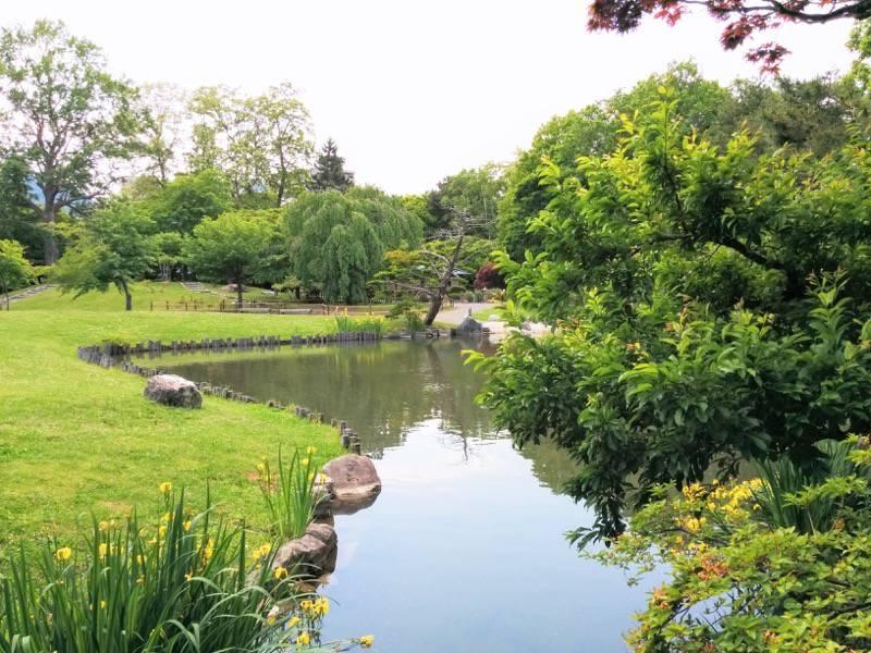 中島公園 日本庭園園内12