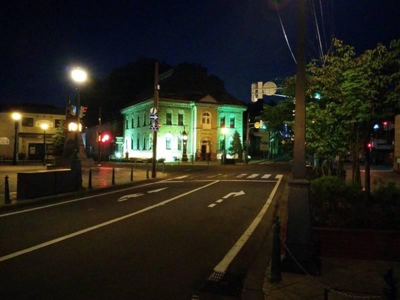 小樽 夜のメルヘン交差点3