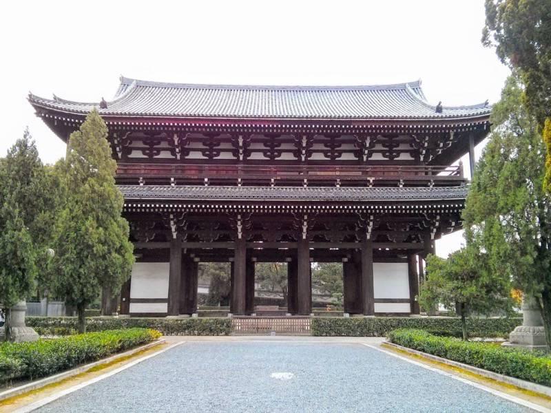 東福寺 三門1