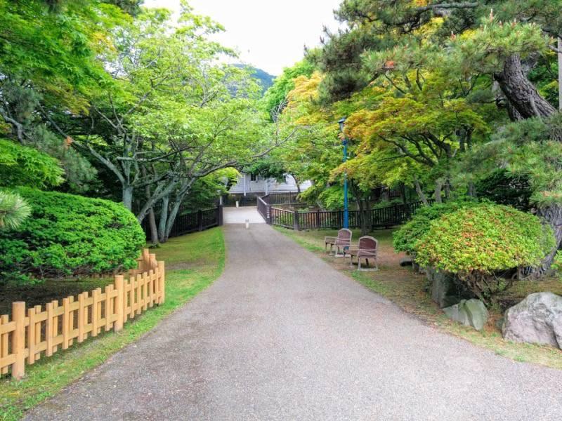 函館公園 園内歩道5