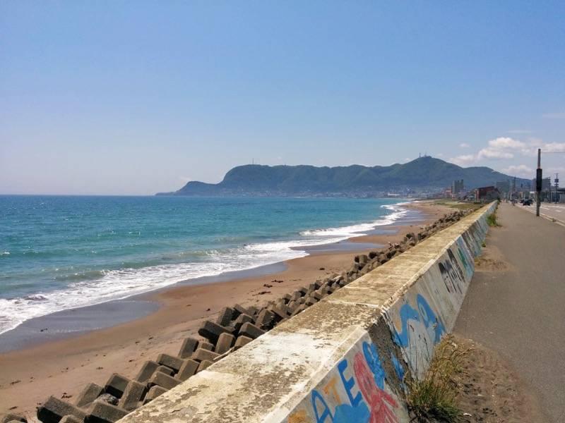 一文字の帰りに見た海岸1