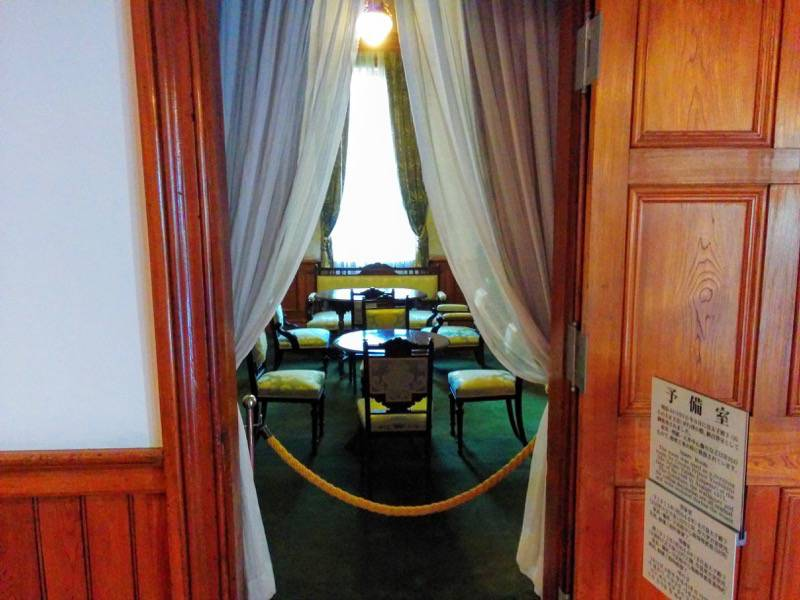旧函館区公会堂 2F予備室1−1