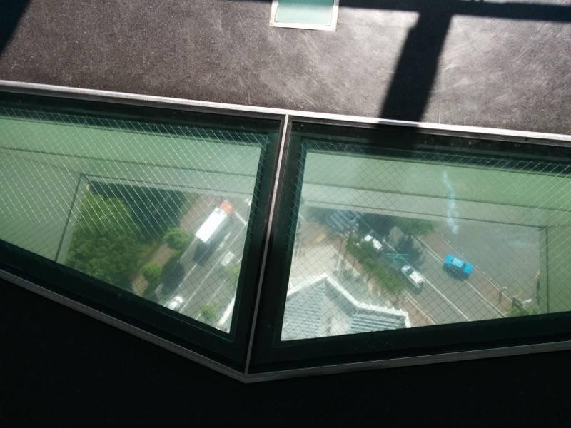 五稜郭タワー 窓