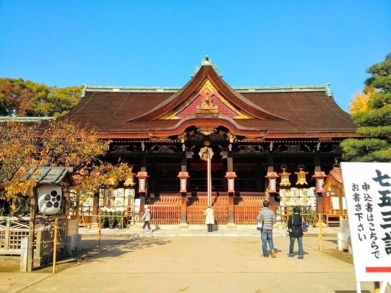 北野天満宮 社殿1