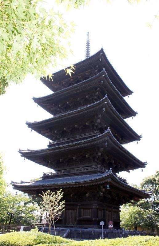 東寺 五重塔参考写真