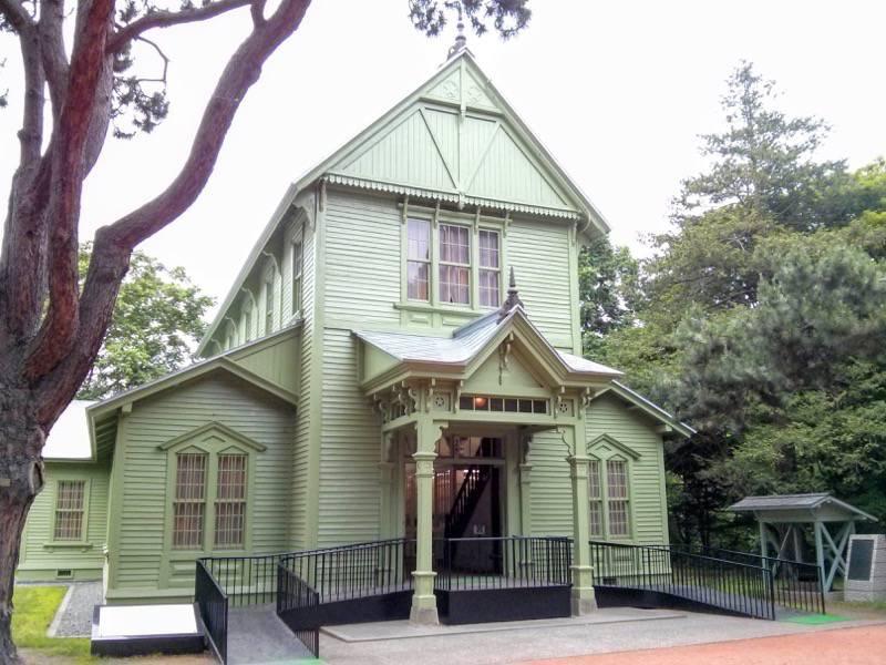 北海道大学植物園 博物館2