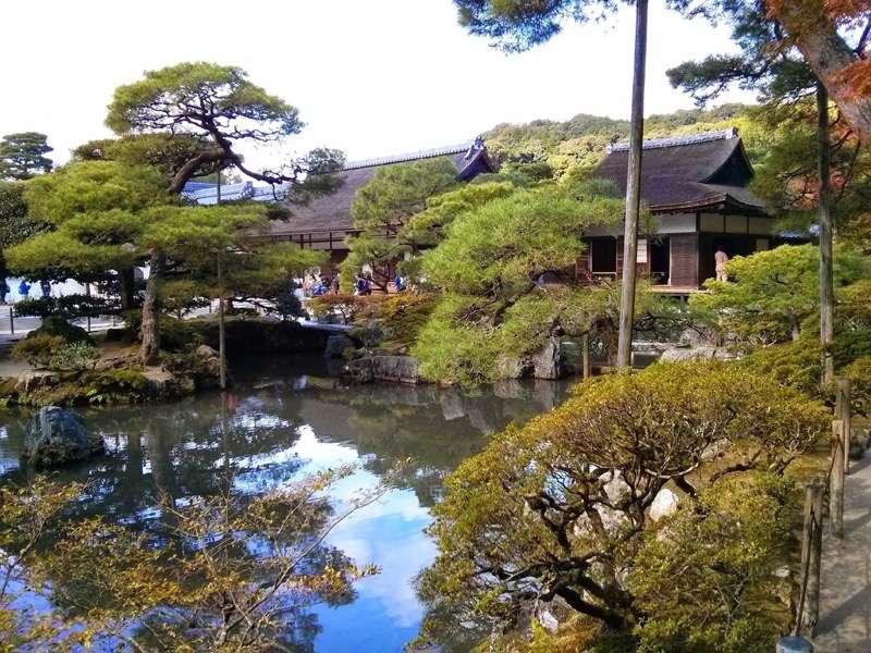 銀閣寺 方丈と東求堂