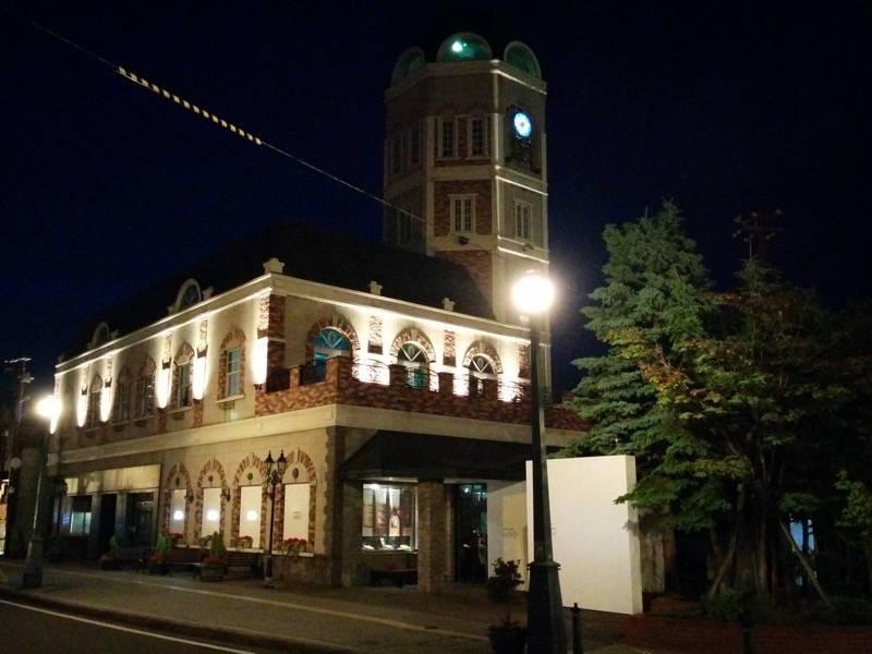 小樽 夜のルタオ本店2