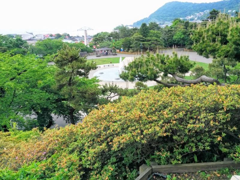 函館公園 公園よりの眺め