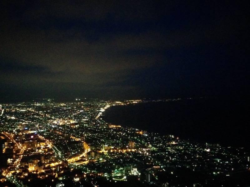 函館山 少し明るさが残る夜景3