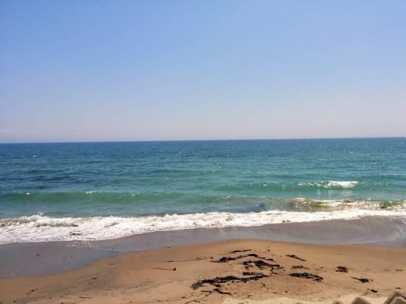一文字の帰りに見た海岸2