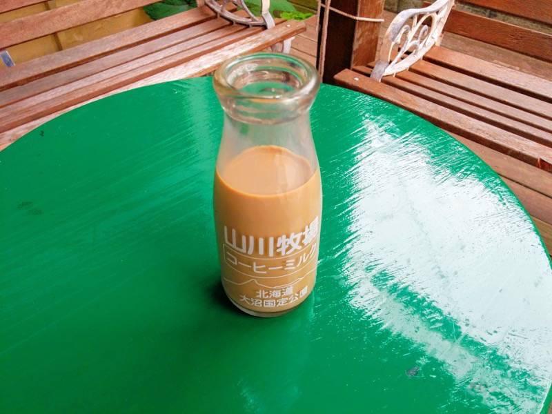函館元町エリア 山川牧場のコーヒー牛乳
