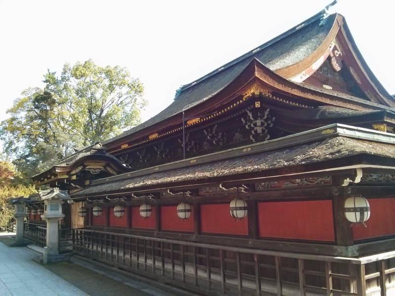 北野天満宮 社殿3